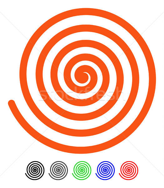 Hypnosis Flat Icon Stock photo © ahasoft