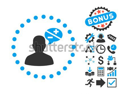 Ikon vektor piktogram stílus grafikus szimbólum Stock fotó © ahasoft