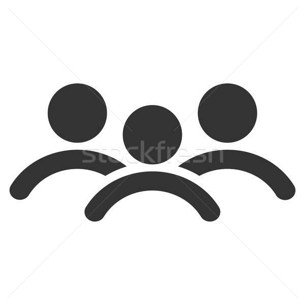 Man Group Flat Icon Stock photo © ahasoft