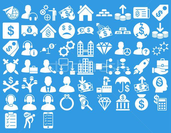 Commerce Icon Set Stock photo © ahasoft