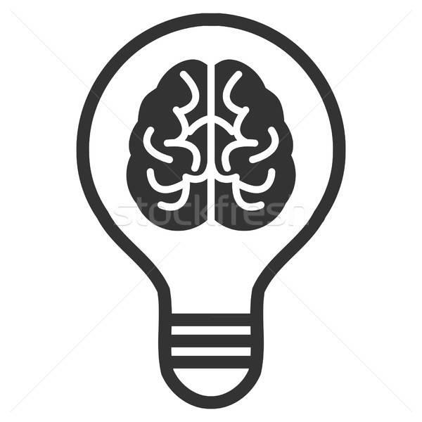 Idea Bulb Vector Icon Stock photo © ahasoft