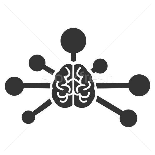 Mind Control Links Raster Icon Stock photo © ahasoft