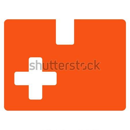 医療 ボックス アイコン ベクトル 色 ストックフォト © ahasoft