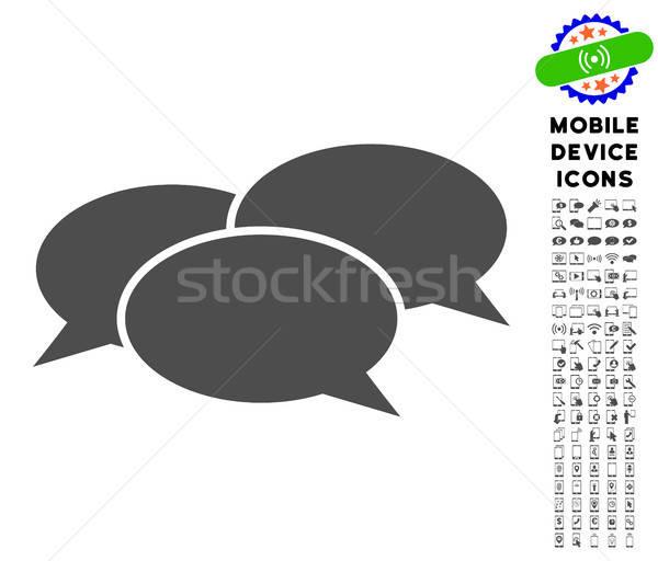 Webinar Icon with Set Stock photo © ahasoft