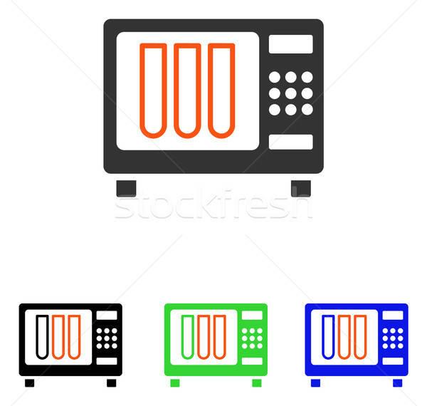 Sterilizer Flat Vector Icon Stock photo © ahasoft