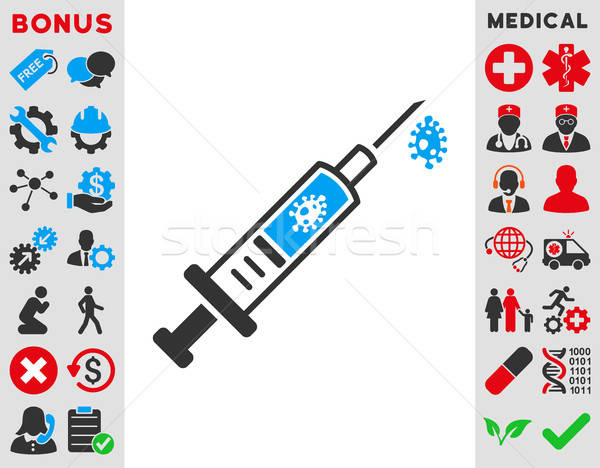 Stock photo: Infection Injection Icon