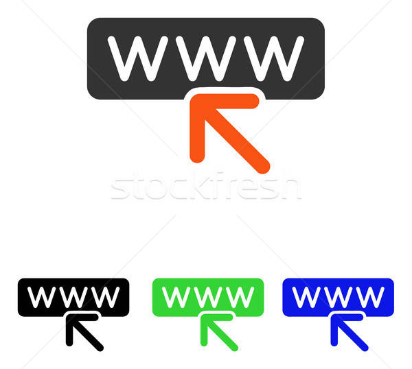 Select Website Flat Vector Icon Stock photo © ahasoft