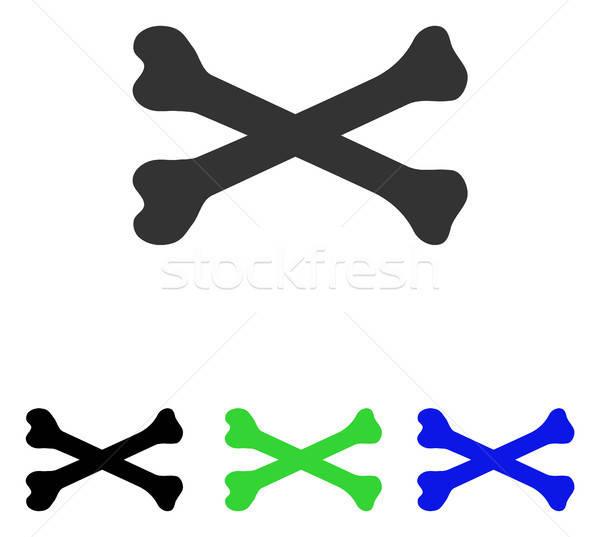 Botten vector icon pictogram illustratie stijl Stockfoto © ahasoft