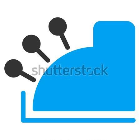 Linkler ikon vektör resim yazı uygulama web tasarım Stok fotoğraf © ahasoft