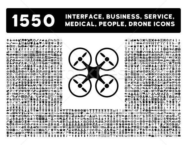 Interfész üzlet szerszámok emberek orvosi díjak Stock fotó © ahasoft