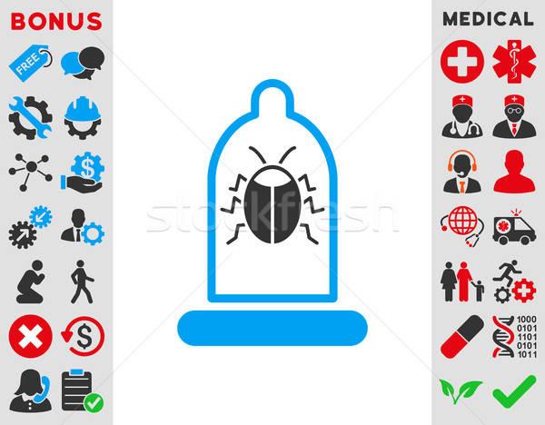 Bug Protection Icon Stock photo © ahasoft