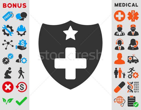 Medical Insurance Icon Stock photo © ahasoft