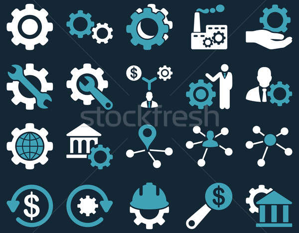 Stockfoto: Tools · iconen · stijl