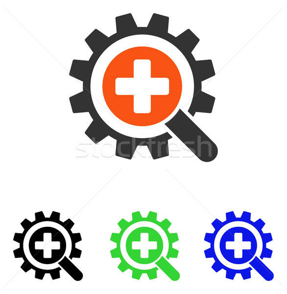 Find Medical Technology Flat Vector Icon Stock photo © ahasoft