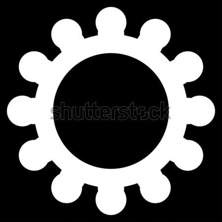 Szövetség vállalat ikon piktogram stílus grafikus Stock fotó © ahasoft