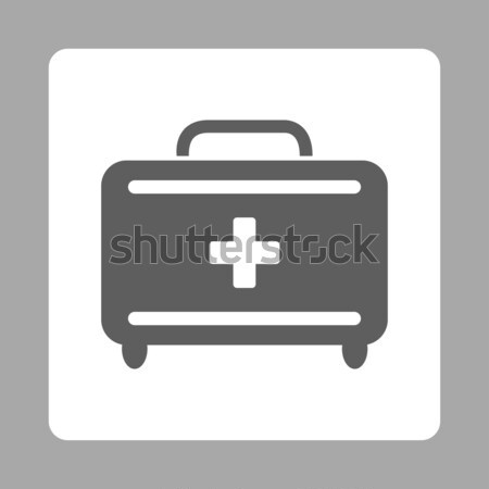 Medical Baggage Flat Vector Icon Stock photo © ahasoft