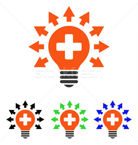 Disinfection Lamp Flat Vector Icon Stock photo © ahasoft