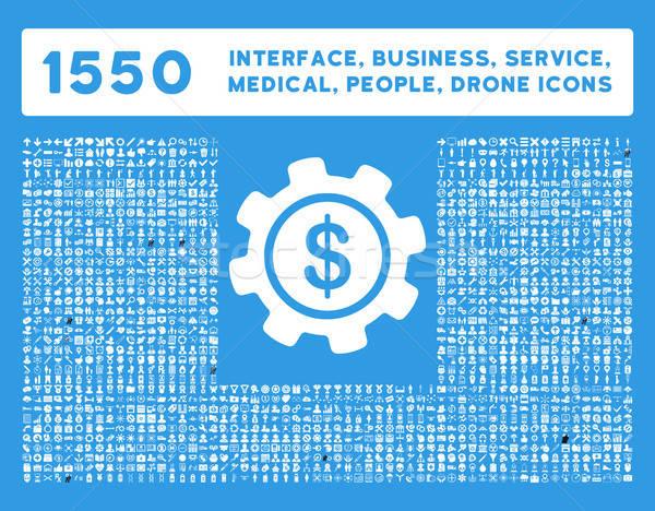 Schnittstelle Business Werkzeuge Menschen medizinischen Auszeichnungen Stock foto © ahasoft