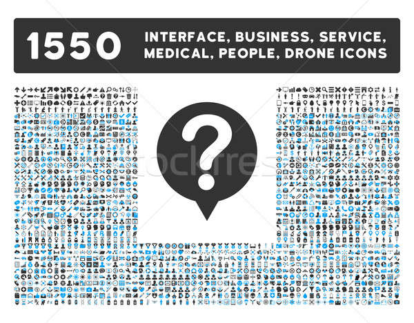 Estado ícone mais interface negócio ferramentas Foto stock © ahasoft