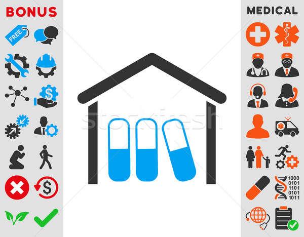 Drugs Garage Icon Stock photo © ahasoft