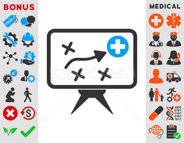 Health Strategy Icon Stock photo © ahasoft