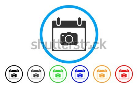 Potence Tools Flat Vector Icon Stock photo © ahasoft