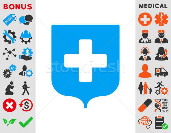 Medical Shield Icon Stock photo © ahasoft