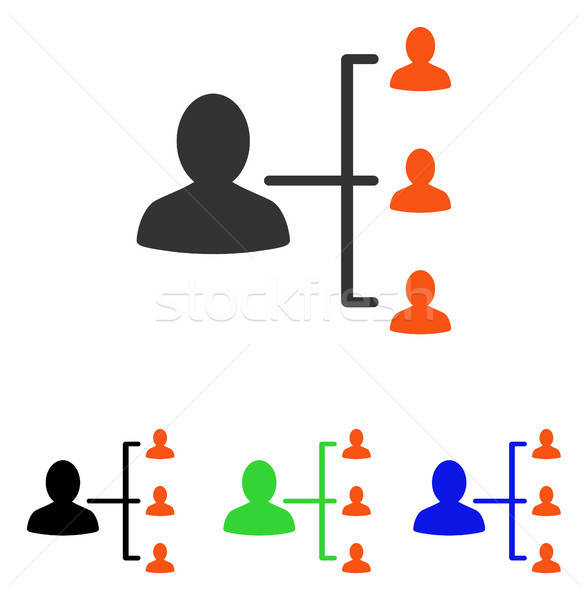 Hasta ilişkileri vektör ikon örnek stil Stok fotoğraf © ahasoft