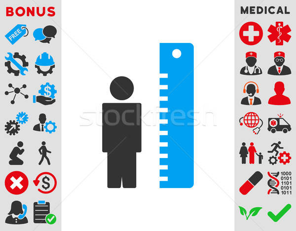 Height Meter Icon Stock photo © ahasoft
