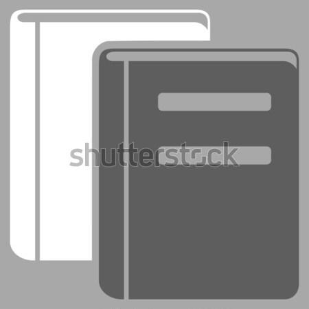 Books Flat Icon Stock photo © ahasoft
