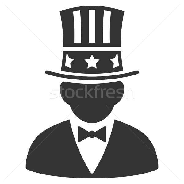 Capitalist Raster Icon Stock photo © ahasoft