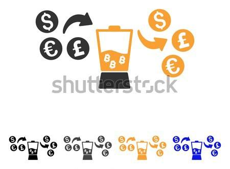 通貨 ミキサー アイコン ベクトル アプリケーション Webデザイン ストックフォト © ahasoft