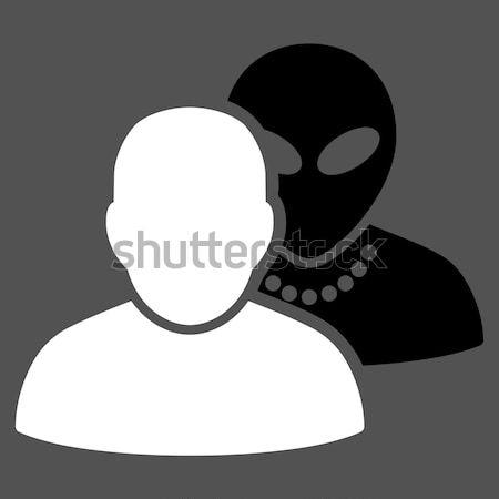 Humans Flat Icon Stock photo © ahasoft
