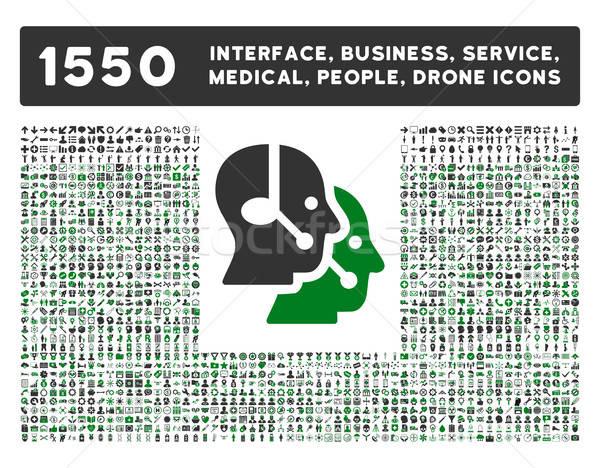 Stockfoto: Interface · business · tools · mensen · medische
