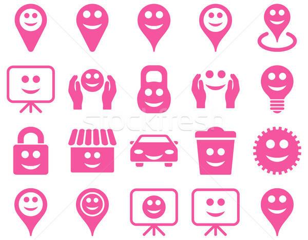 Сток-фото: инструменты · опции · улыбается · объекты · иконки · вектора