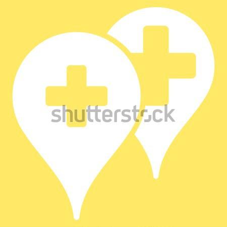Medical Answer Flat Icon Stock photo © ahasoft
