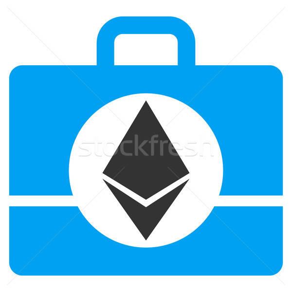 Ethereum Case Flat Icon Stock photo © ahasoft