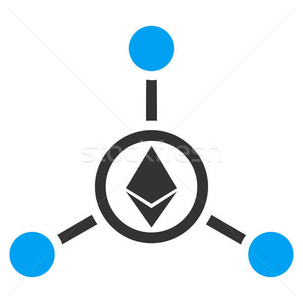 Ethereum Relations Flat Icon Stock photo © ahasoft