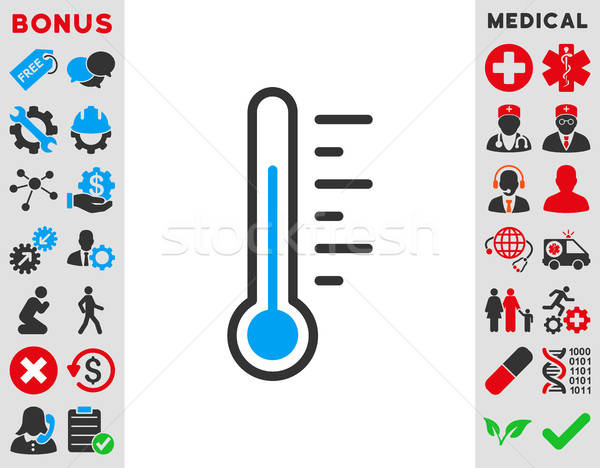 Temperature Level Icon Stock photo © ahasoft