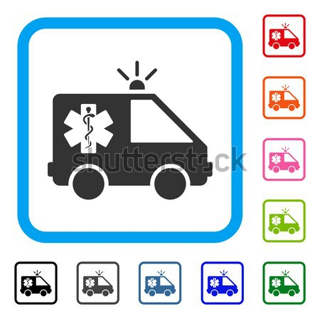 Ethereum Express Car Flat Icon with Stock photo © ahasoft