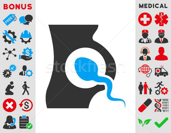 Artificial Insemination Icon Stock photo © ahasoft