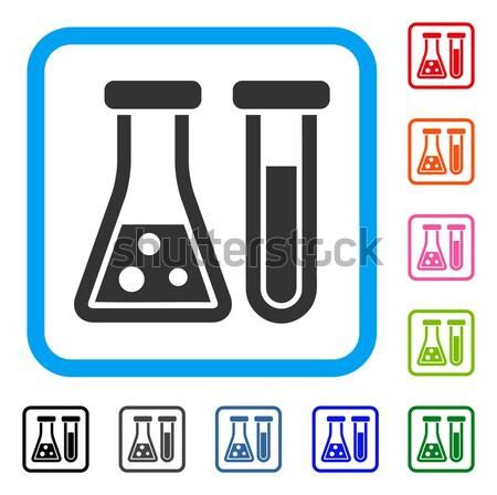Química vector icono pictograma ilustración estilo Foto stock © ahasoft