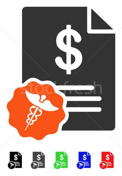 Medical Prices Flat Icon Stock photo © ahasoft