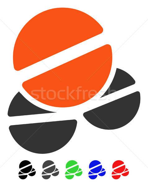 Icône vecteur pictogramme couleur noir Photo stock © ahasoft