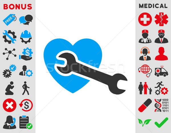 Heart Surgery Icon Stock photo © ahasoft