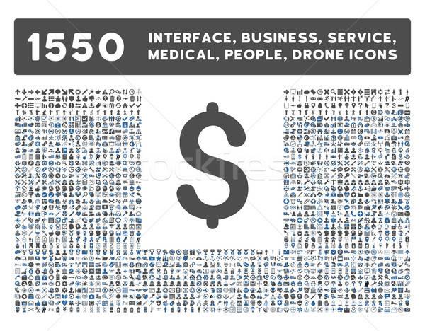 интерфейс бизнеса инструменты люди медицинской Сток-фото © ahasoft