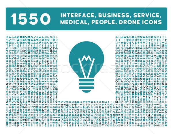 Interface negócio ferramentas pessoas médico Foto stock © ahasoft