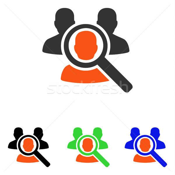 Arama hasta vektör ikon örnek stil Stok fotoğraf © ahasoft