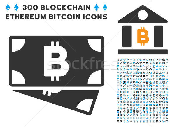 Bitcoin nakit ikon akıllı sözleşme Stok fotoğraf © ahasoft