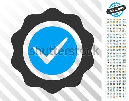 Bericht icon mobiele collectie Stockfoto © ahasoft